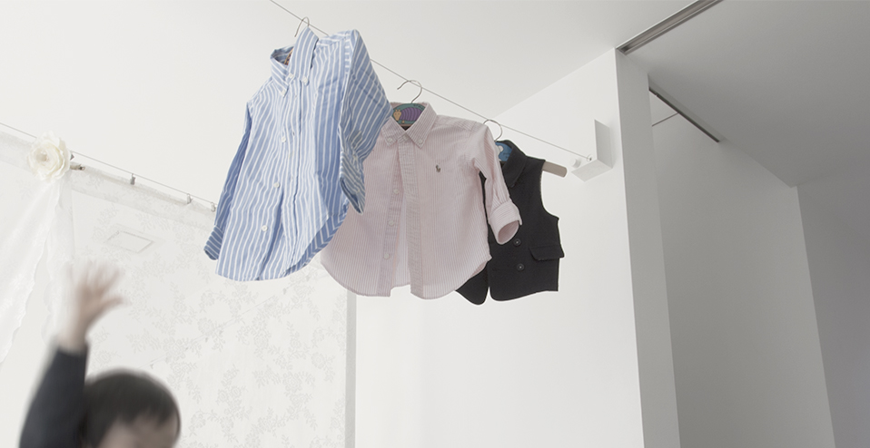 Retractable laundry wireImage